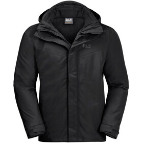 Jack Wolfskin Gotland 3In1 Jacket Men black